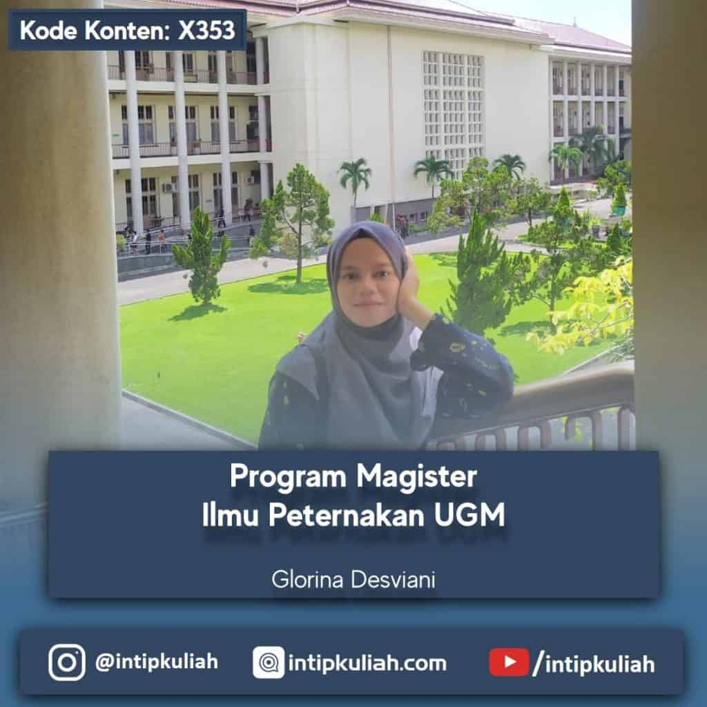 Magister Ilmu Peternakan UGM (Glorina)
