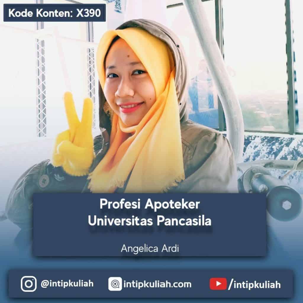 Apoteker Universitas Pancasila (Angel)