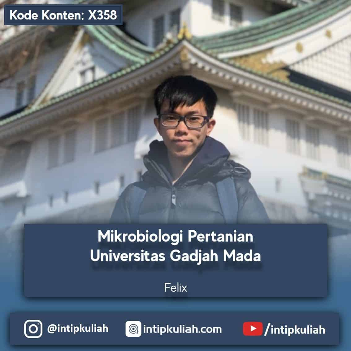 Mikrobiologi Pertanian Universitas Gadjah Mada (Felix)