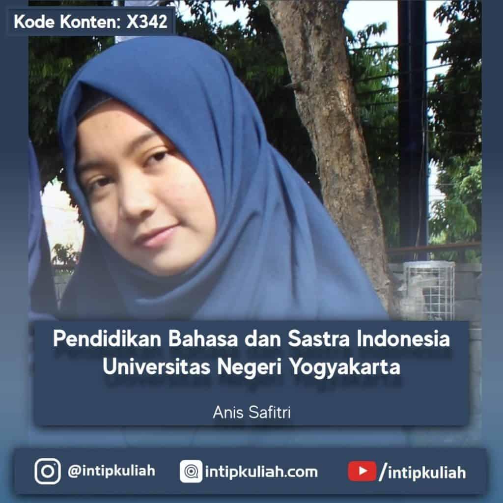 Pendidikan Bahasa dan Sastra Indonesia UNY (Anis)