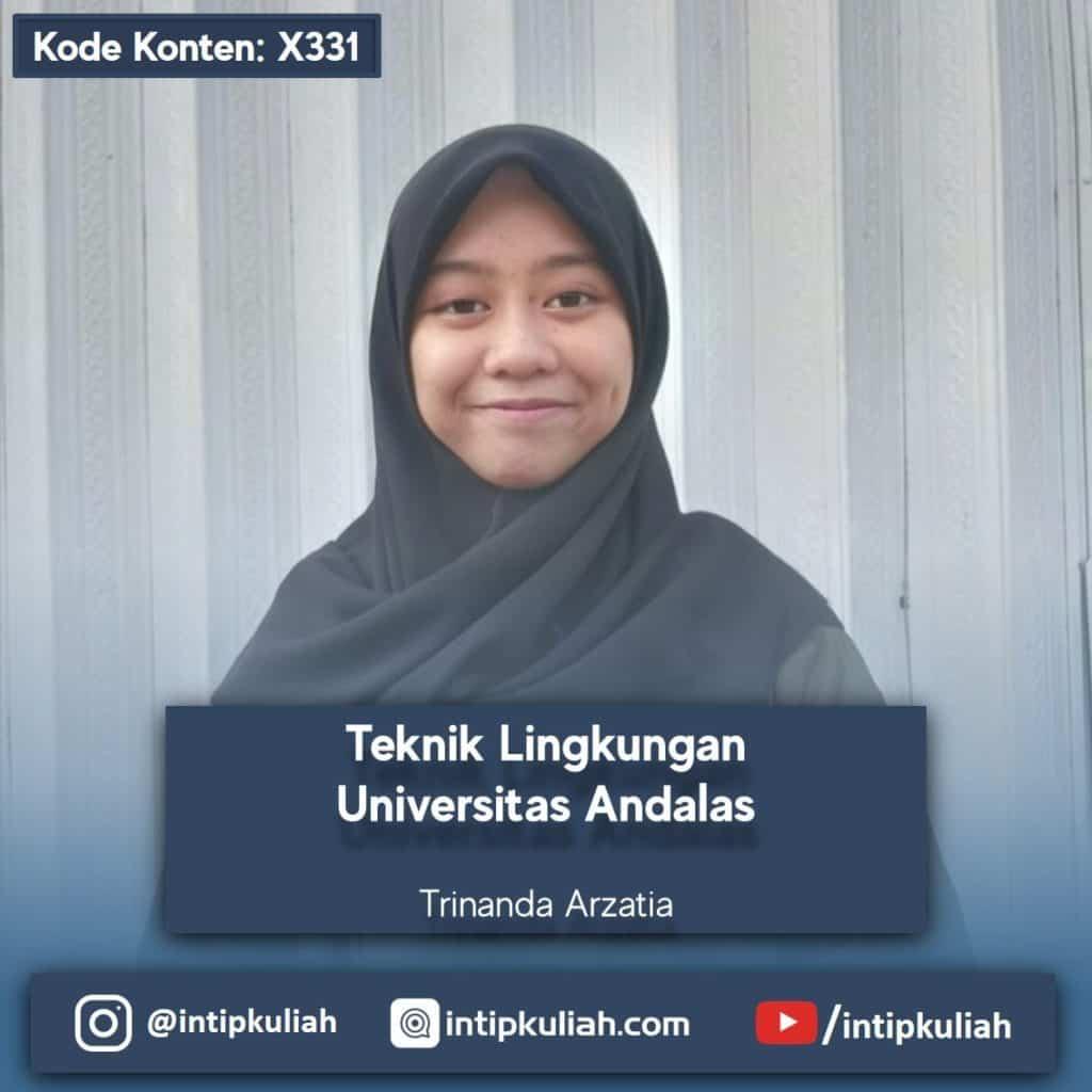 Teknik Lingkungan Universitas Andalas (Nanda)