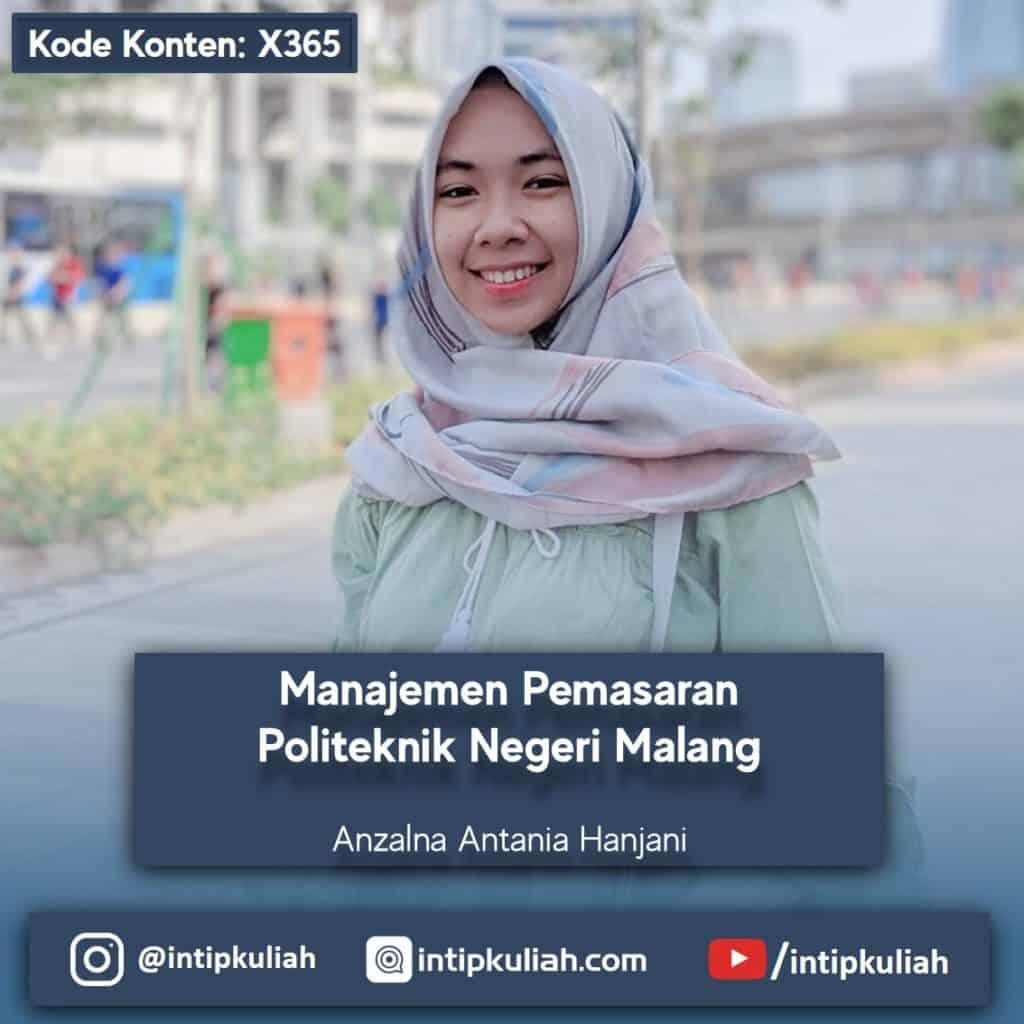 Manajemen Pemasaran Politeknik Negeri Malang (Antania)