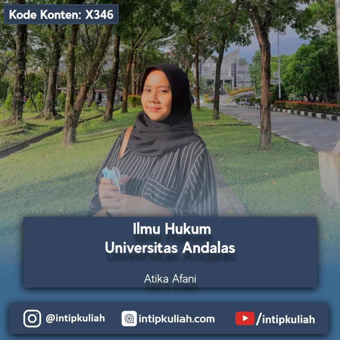 Ilmu Hukum Universitas Andalas (Atika)