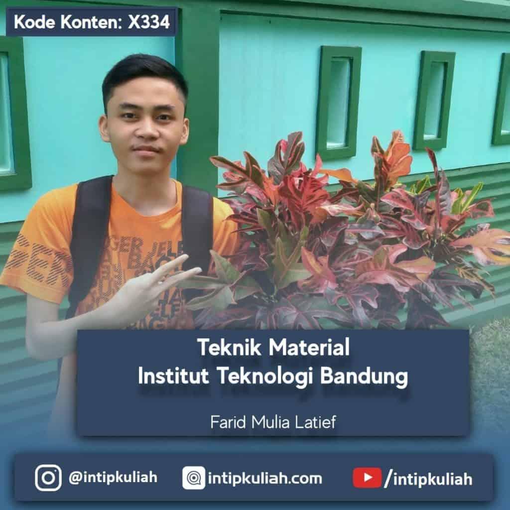 Teknik Material ITB (Farid)