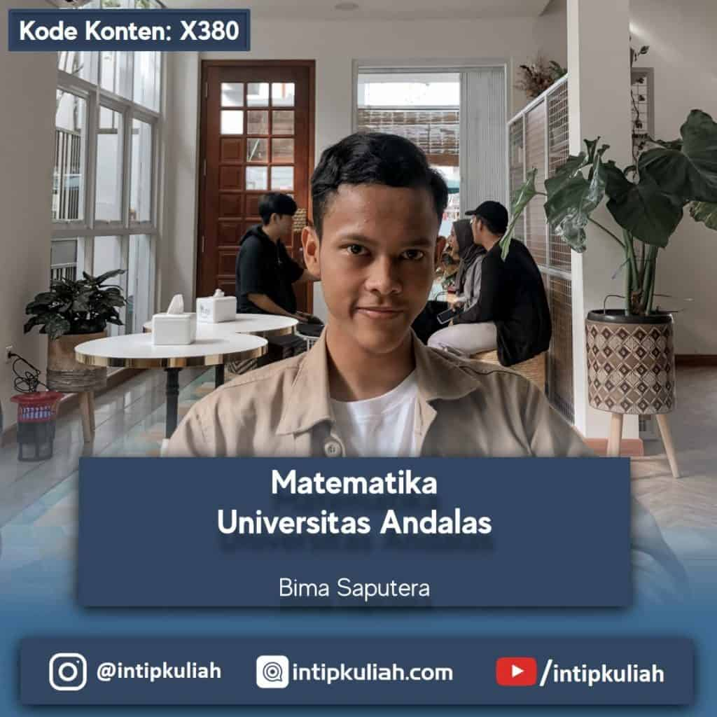 Matematika Universitas Andalas (Bima)