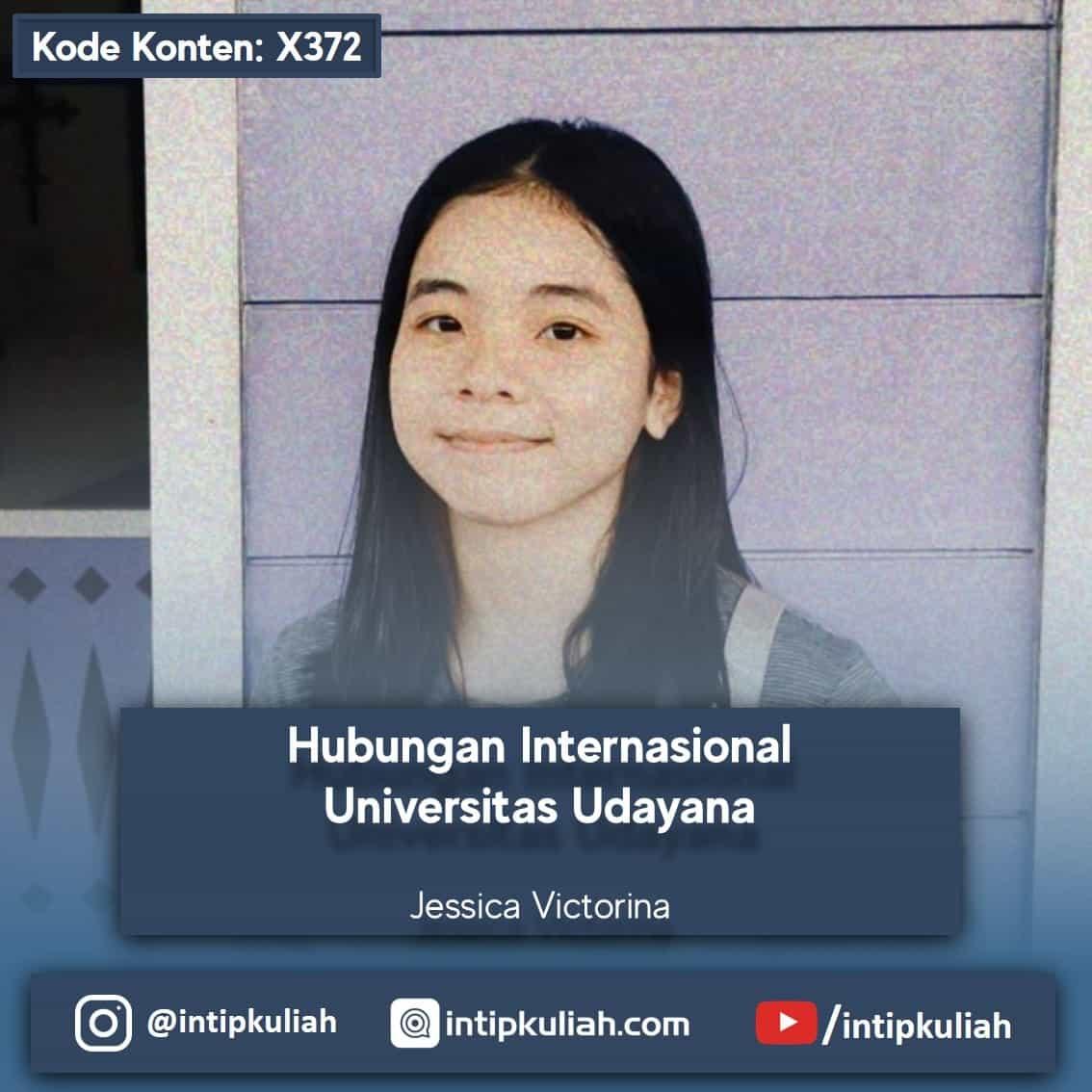 Hubungan Internasional Universitas Udayana (Jessica)