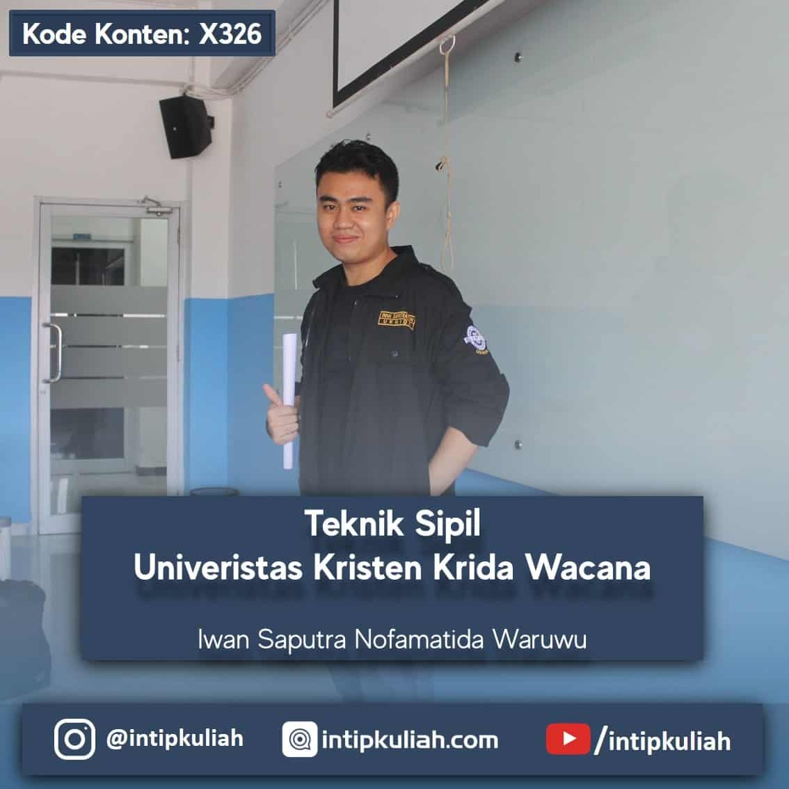 Teknik Sipil UKRIDA (Iwan)