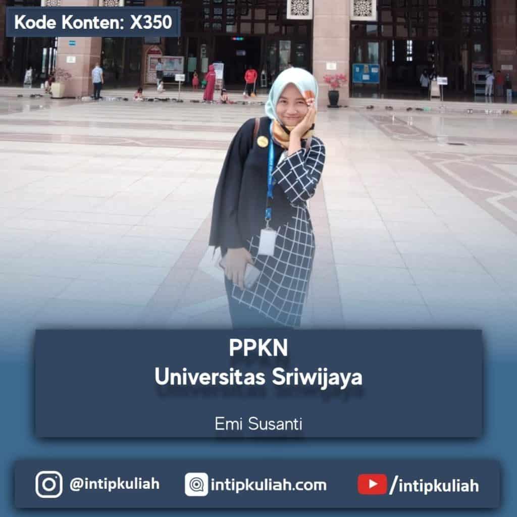 PPKN Universitas Sriwijaya (Emi)