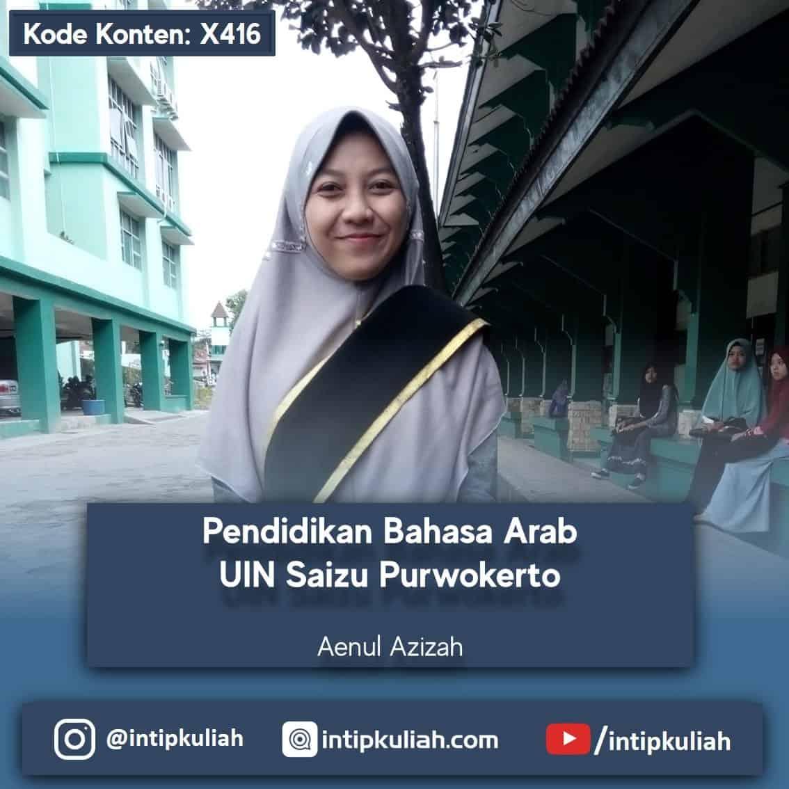 Pendidikan Bahasa Arab UIN Saizu Purwokerto (Aenul)