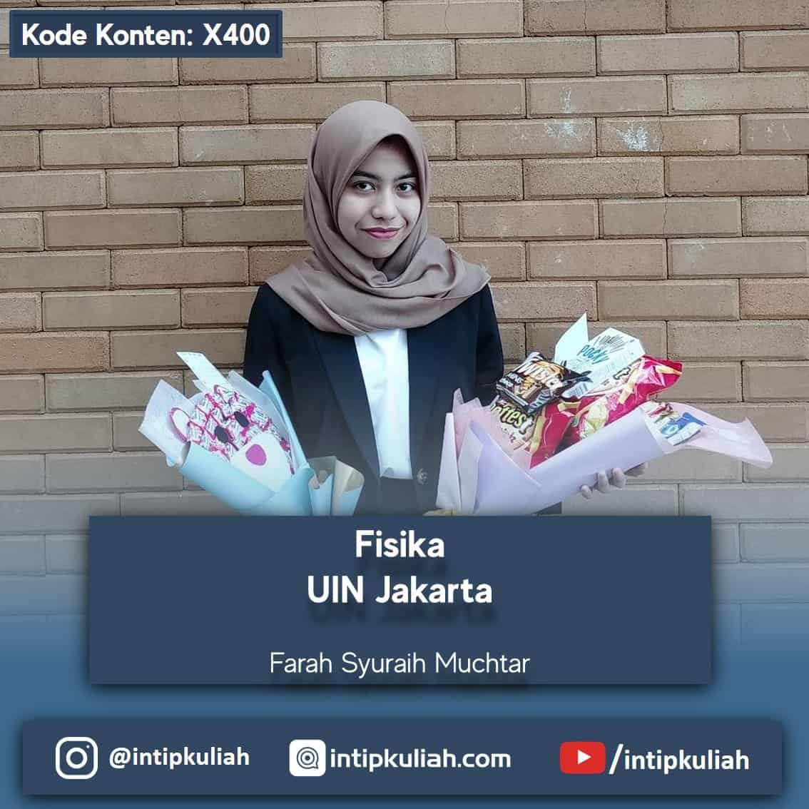 Fisika UIN Jakarta (Farah)