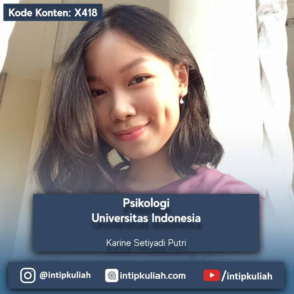 Psikologi UI (Karine)