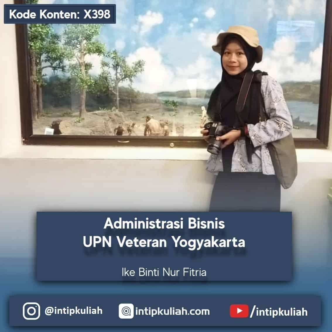 Administrasi Bisnis UPN Veteran Yogyakarta (Ike)
