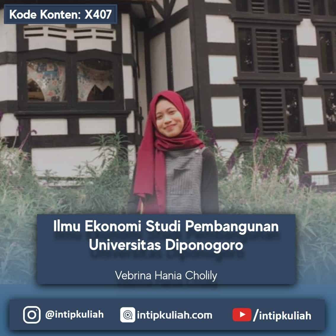 Ilmu Ekonomi Studi Pembangunan UNDIP (Vebrina)