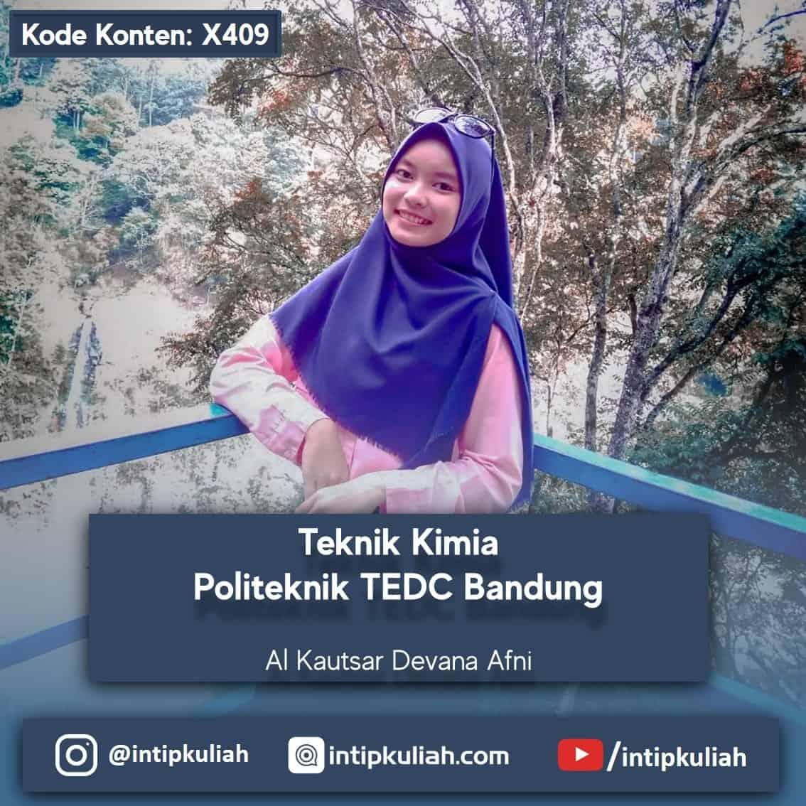 Teknik Kimia Politeknik TEDC Bandung (Al Kautsar)