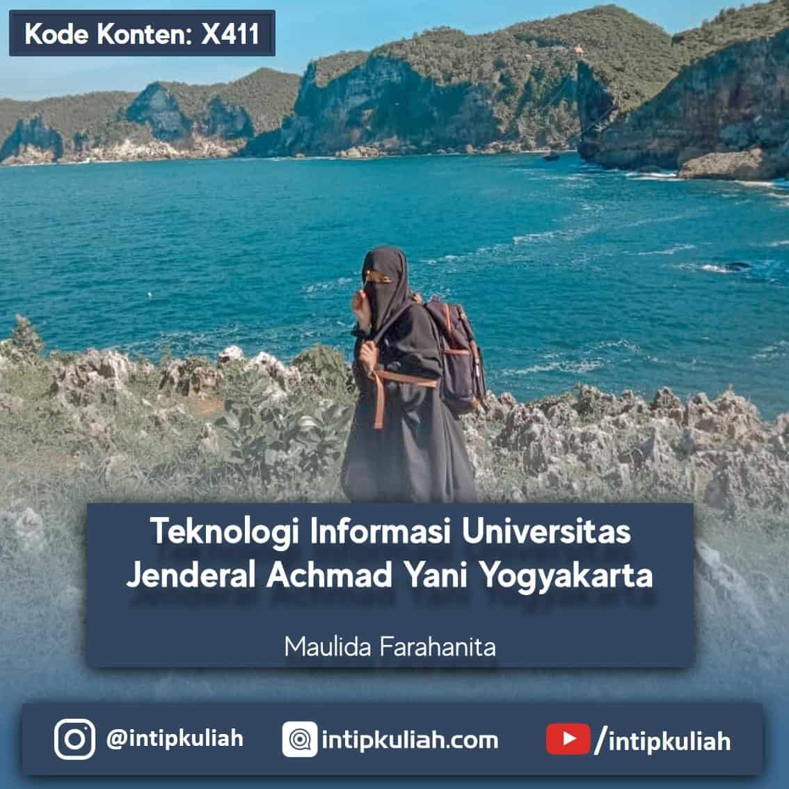 Teknologi Informasi Unjani (Maulida)