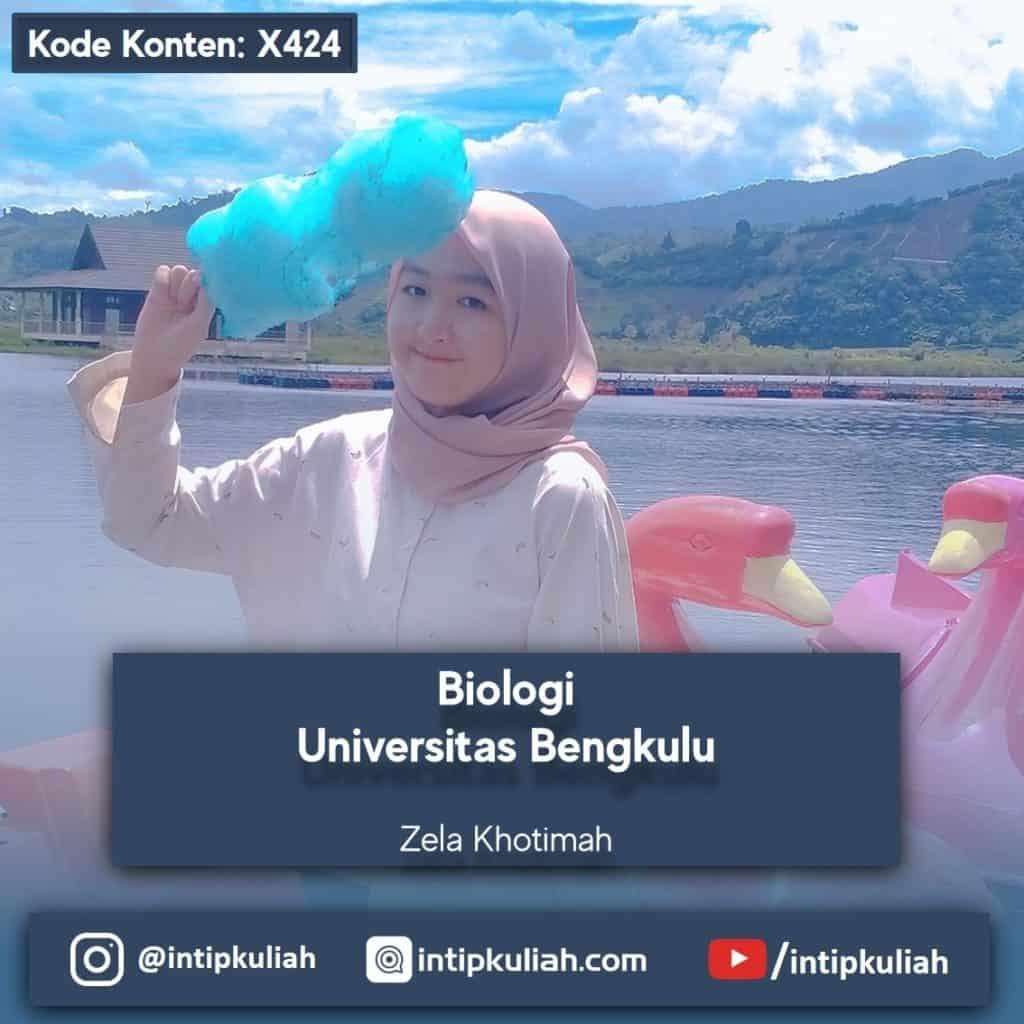 Biologi Universitas Bengkulu (Zela)