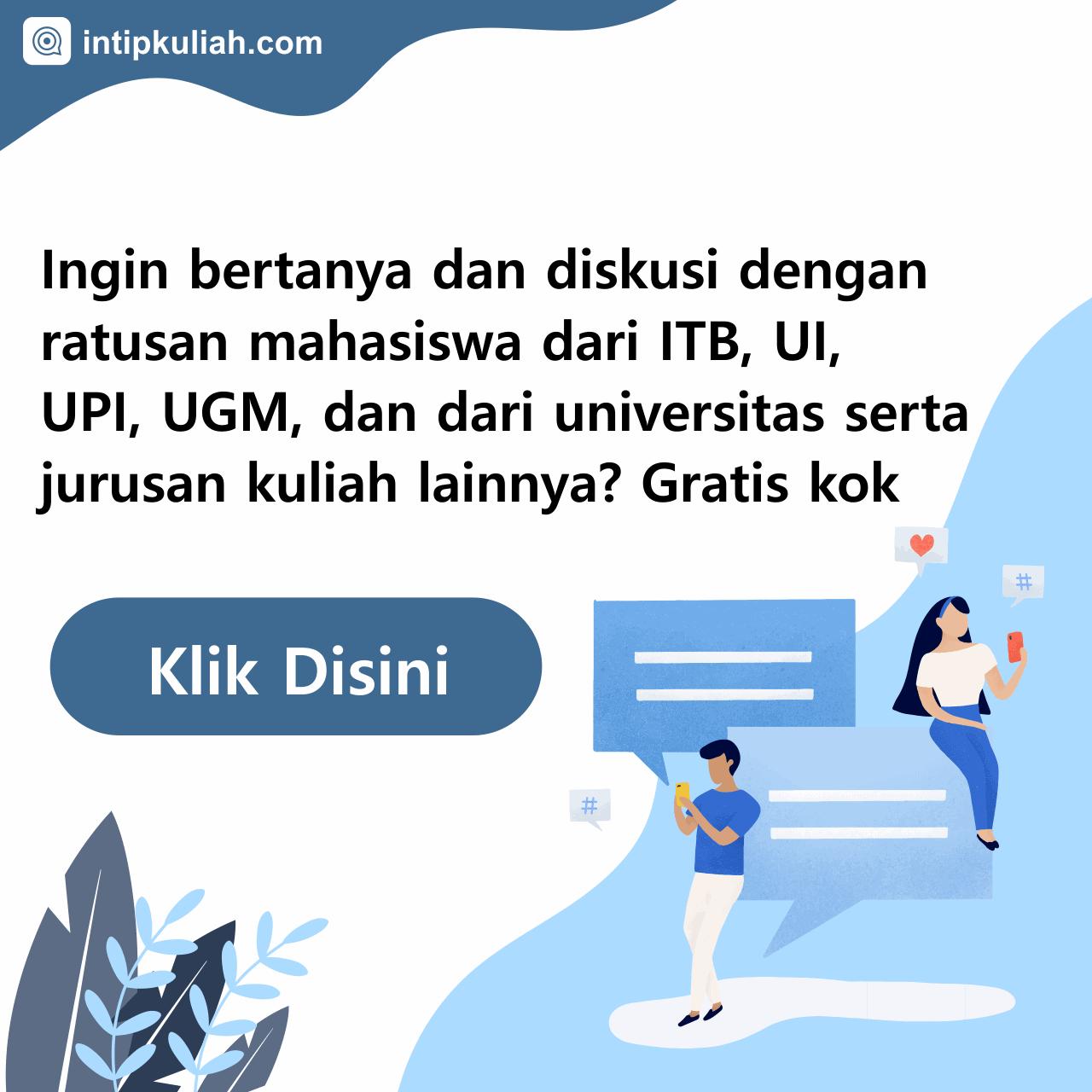 ITB, UI, UGM, UPI