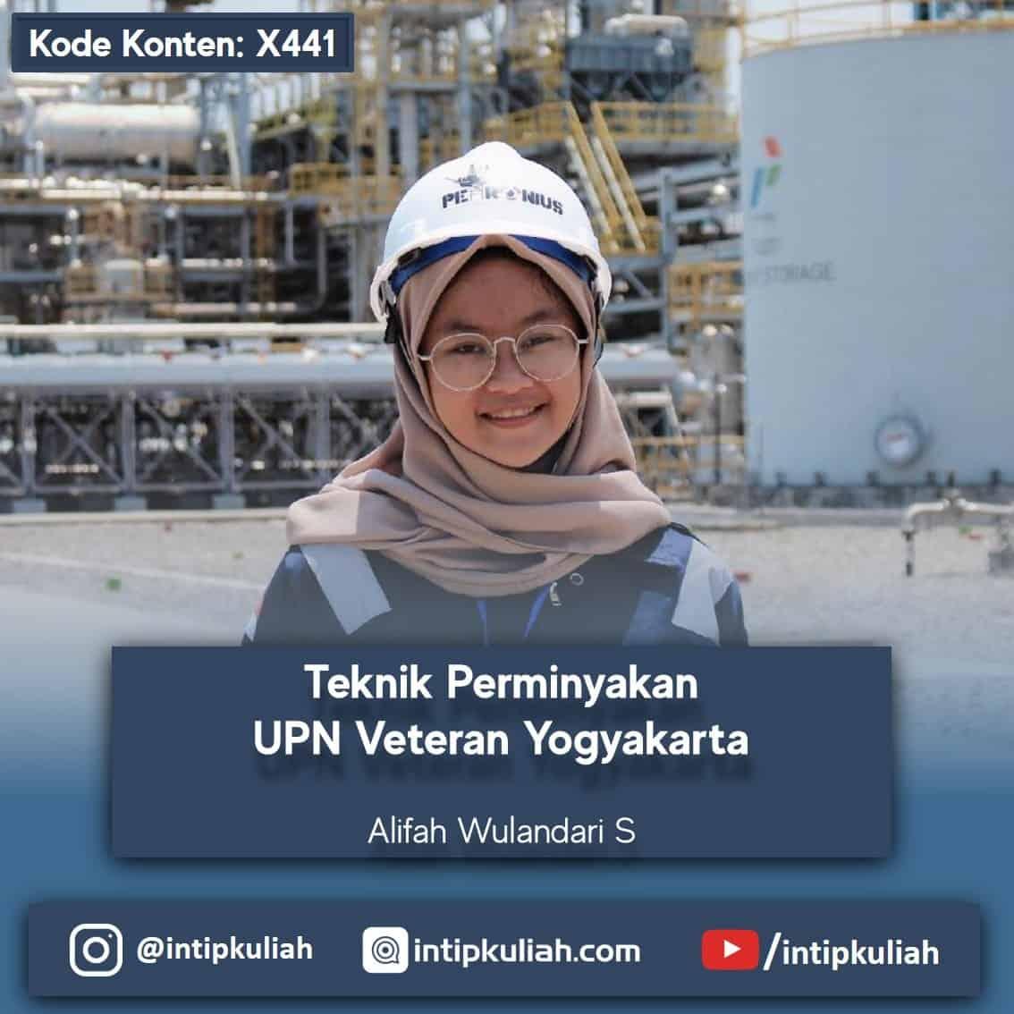 Teknik Perminyakan UPN Veteran Yogyakarta (Arum)