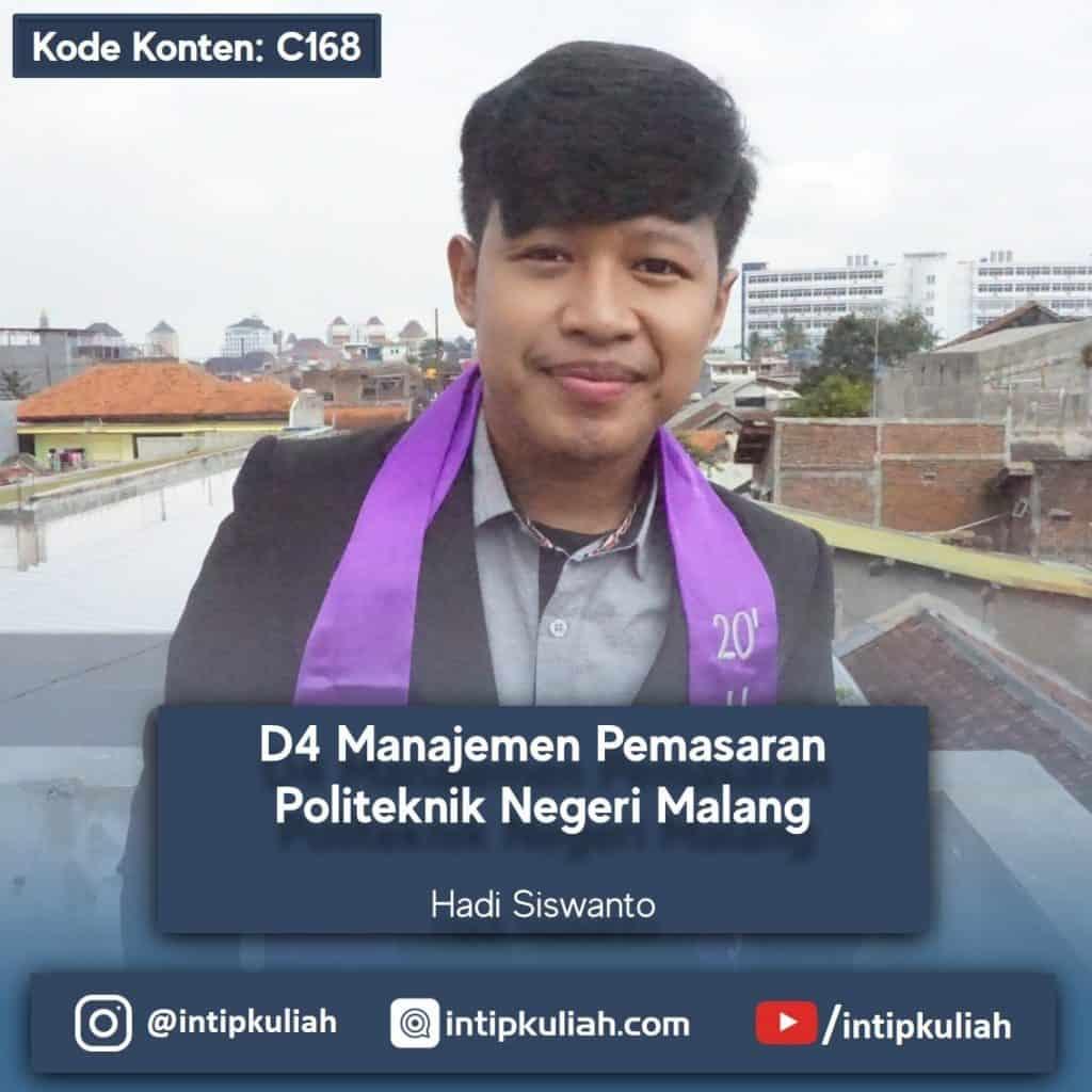 D4 Manajemen Pemasaran Politeknik Negeri Malang (Hadi)