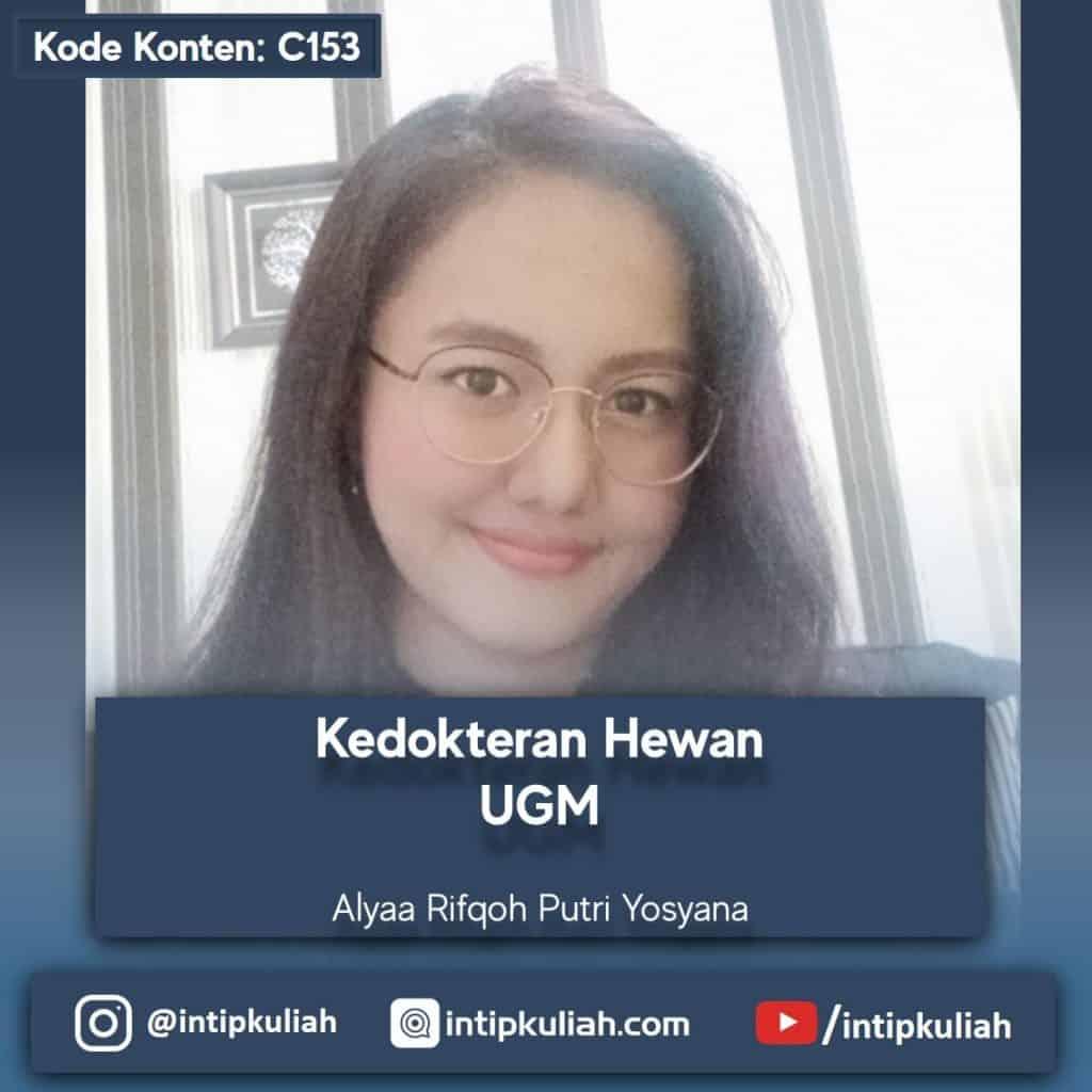 Kedokteran Hewan UGM (Alya)