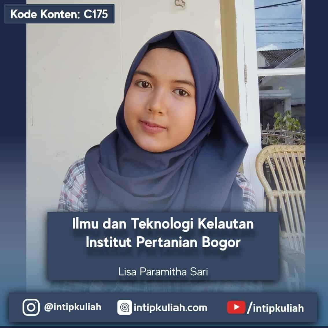 Ilmu dan Teknologi Kelautan IPB (Lisa)