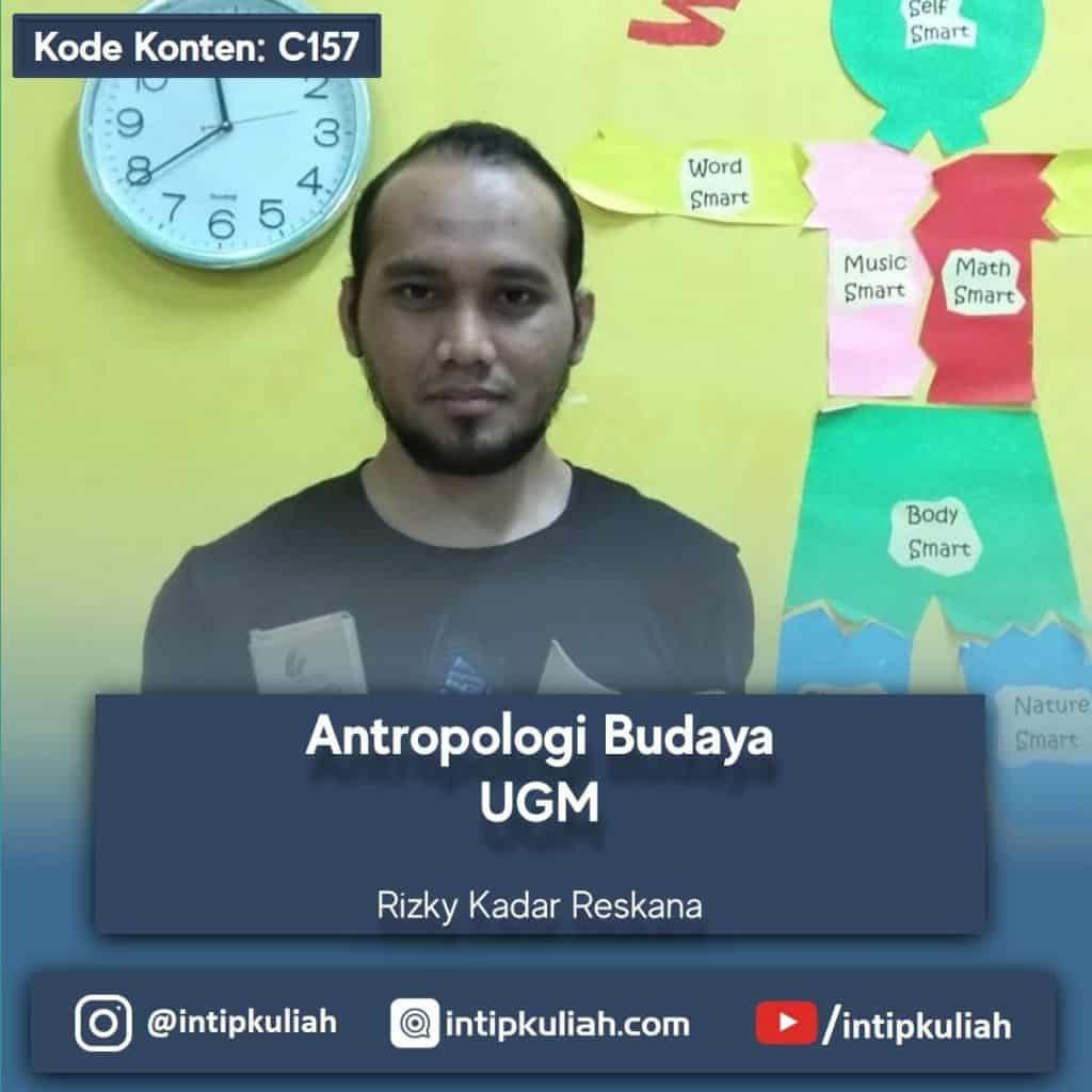 Antropologi Budaya UGM (Rizky)