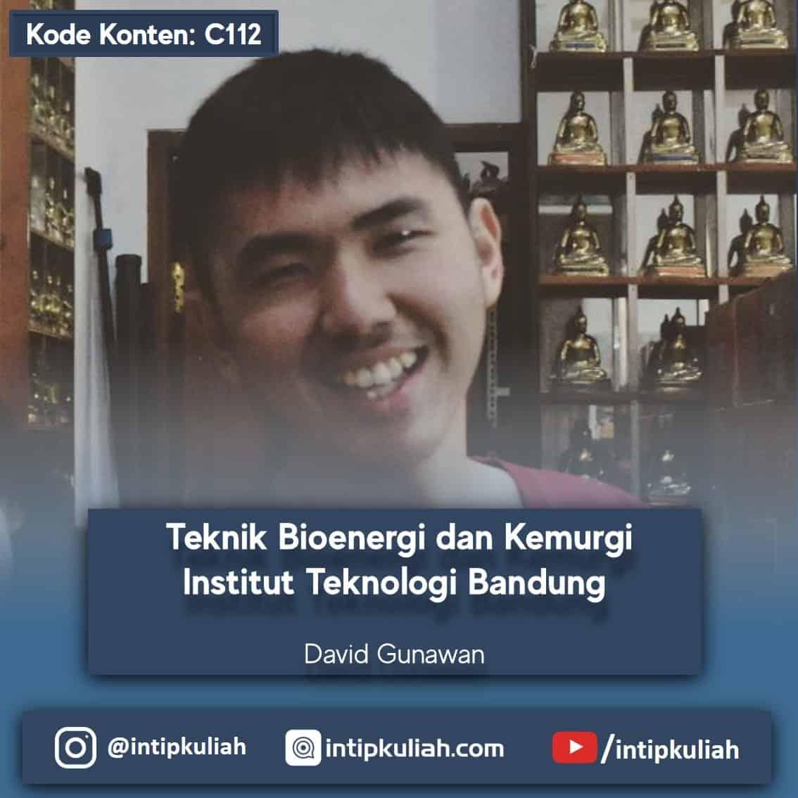 Teknik Bioenergi dan Kemurgi ITB (David)