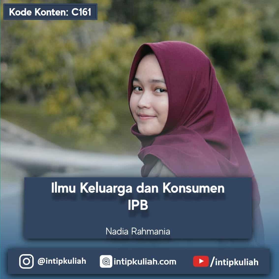 Ilmu Keluarga dan Konsumen IPB (Nadia)