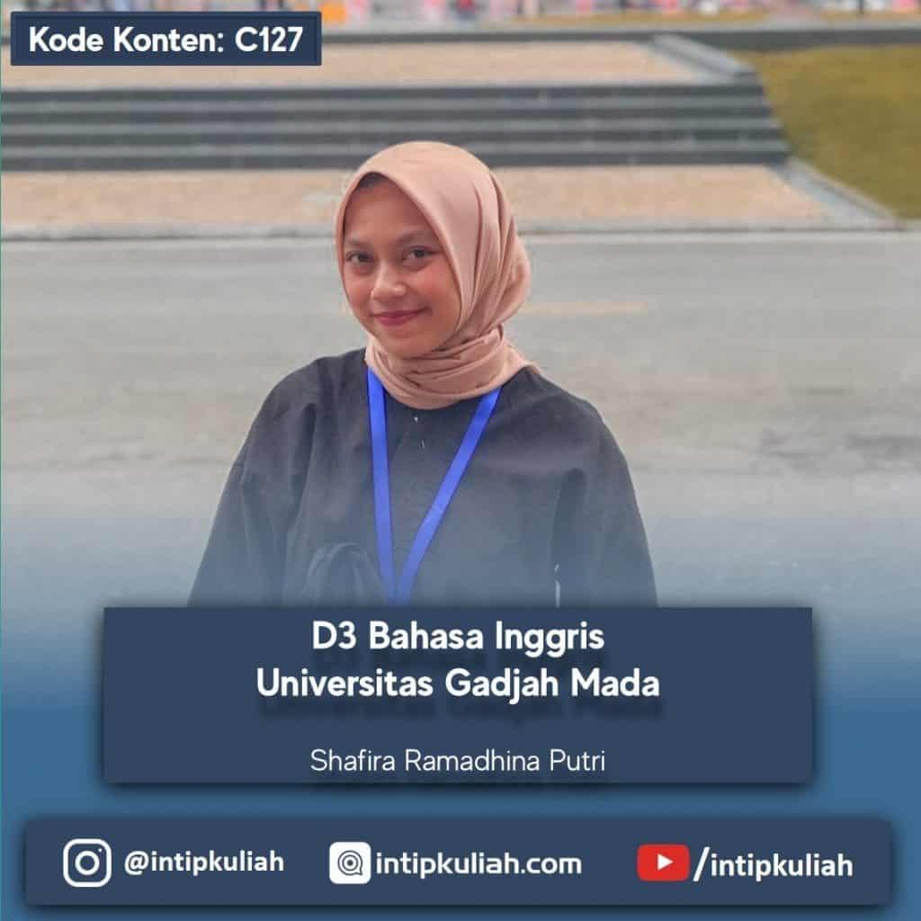 D3 Bahasa Inggris UGM (Shafira)