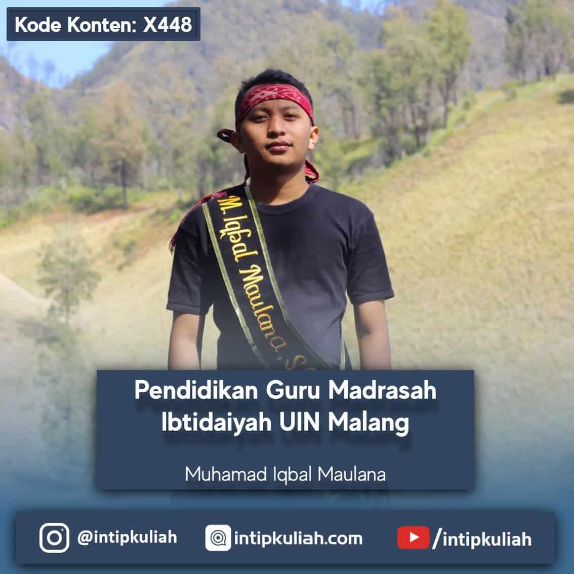 Pendidikan Guru Madrasah Ibtidaiyah UIN Malang (Iqbal)