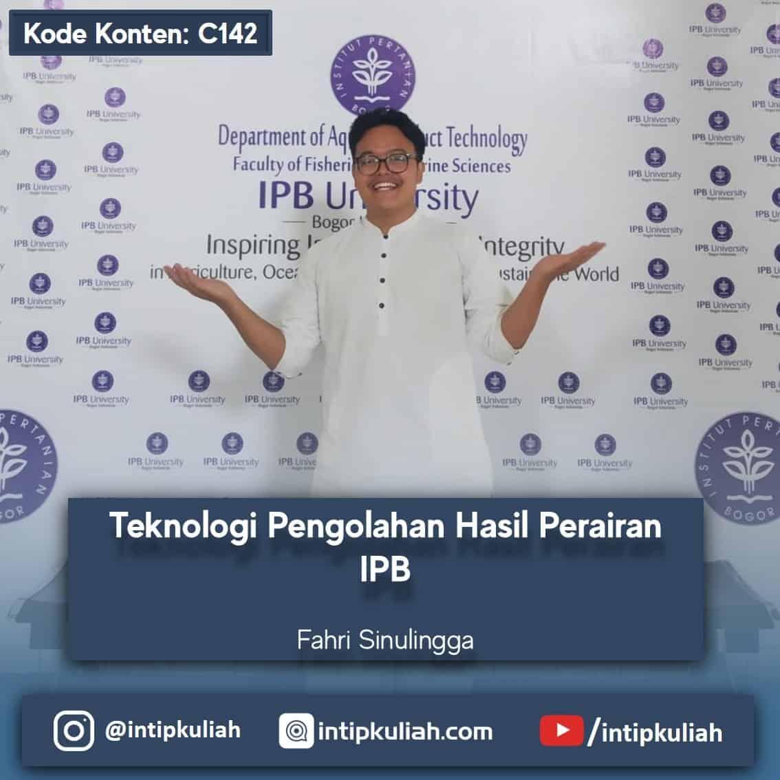 Teknologi Hasil Perairan IPB (Fahri)