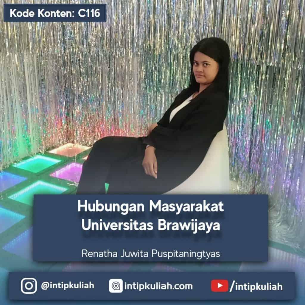 Hubungan Masyarakat Universitas Brawijaya (Renatha)