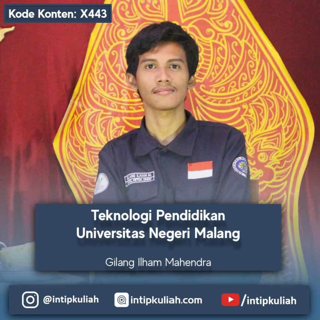 Teknologi Pendidikan Universitas Negeri Malang (Gilang)