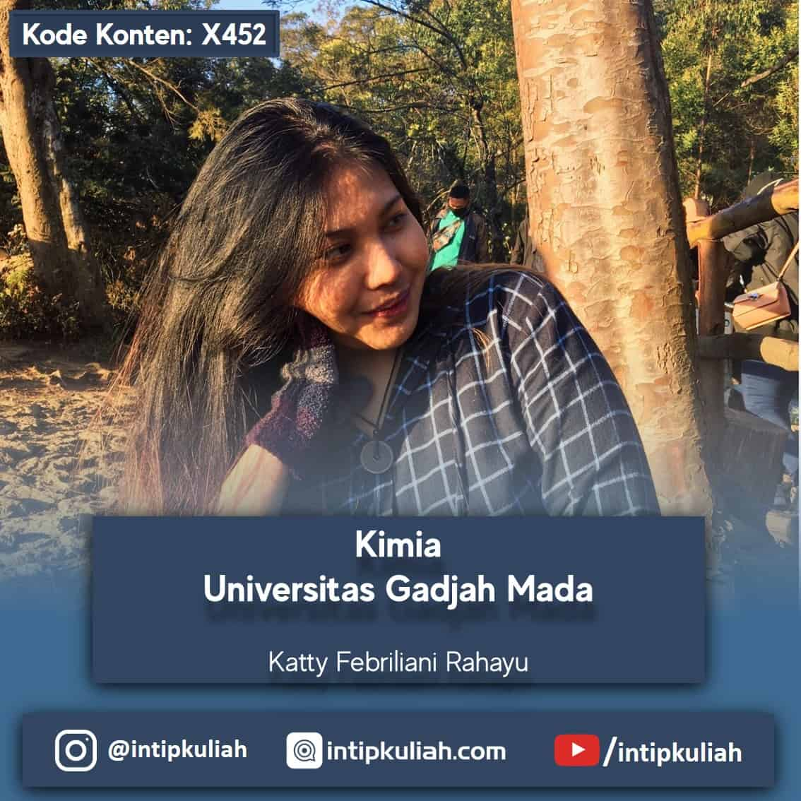 Kimia Universitas Gadjah Mada (Katty)