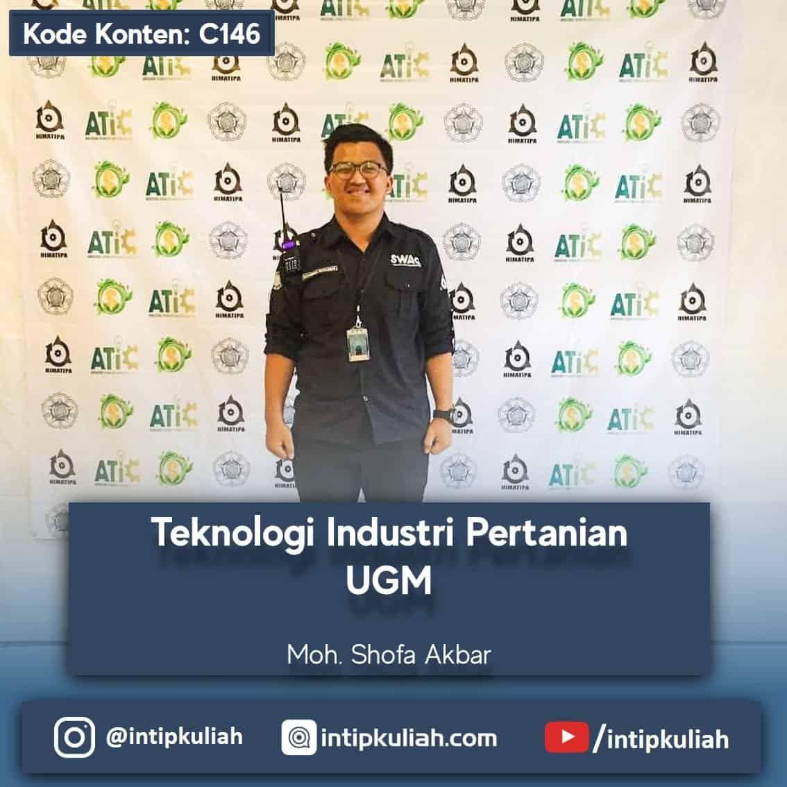 Teknologi Industri Pertanian UGM (Akbar)