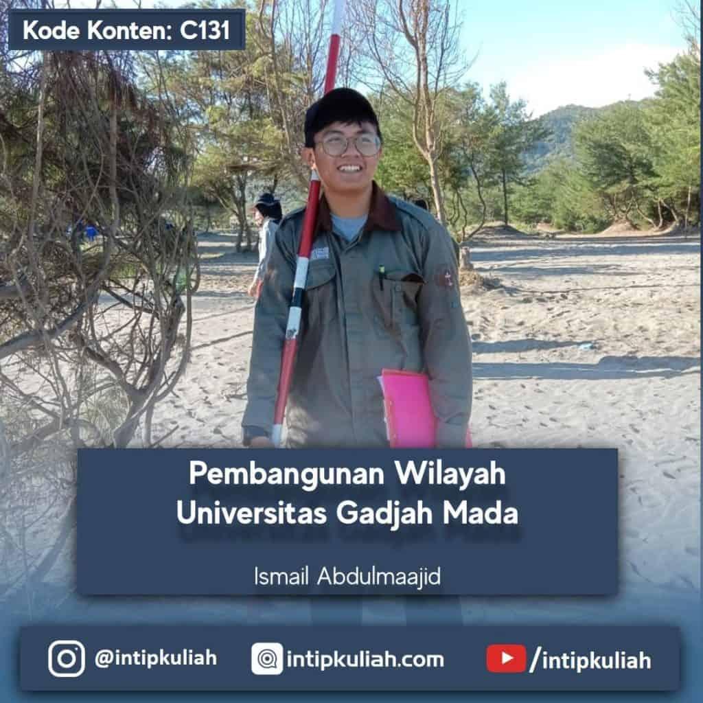Pembangunan Wilayah UGM (Ismail)
