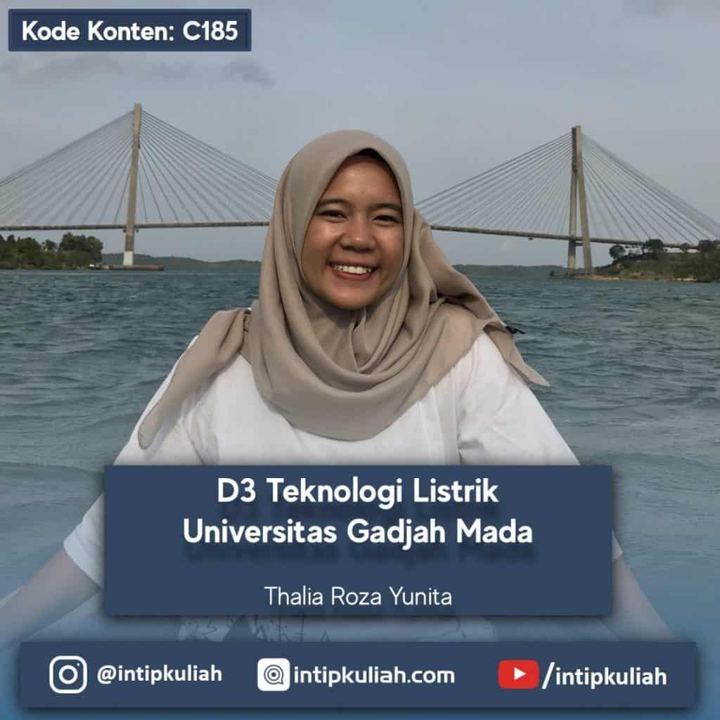 D3 Teknologi Listrik UGM (Thalia)