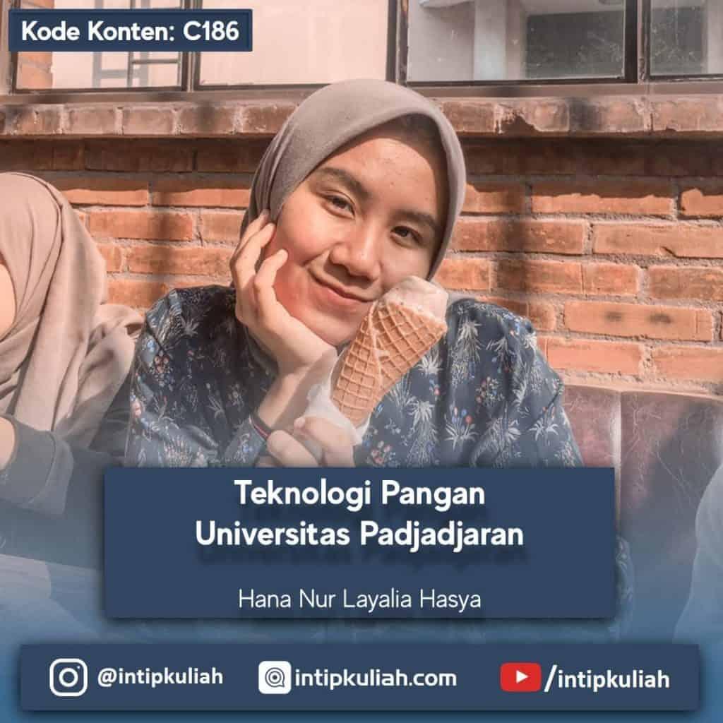 Teknologi Pangan Universitas Padjadjaran (Hana)