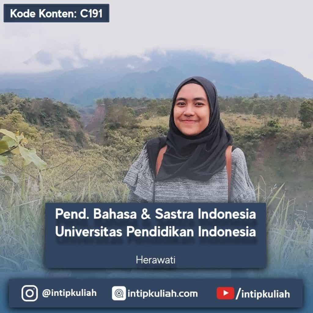 Pendidikan Bahasa dan Sastra Indonesia UPI (Hera)
