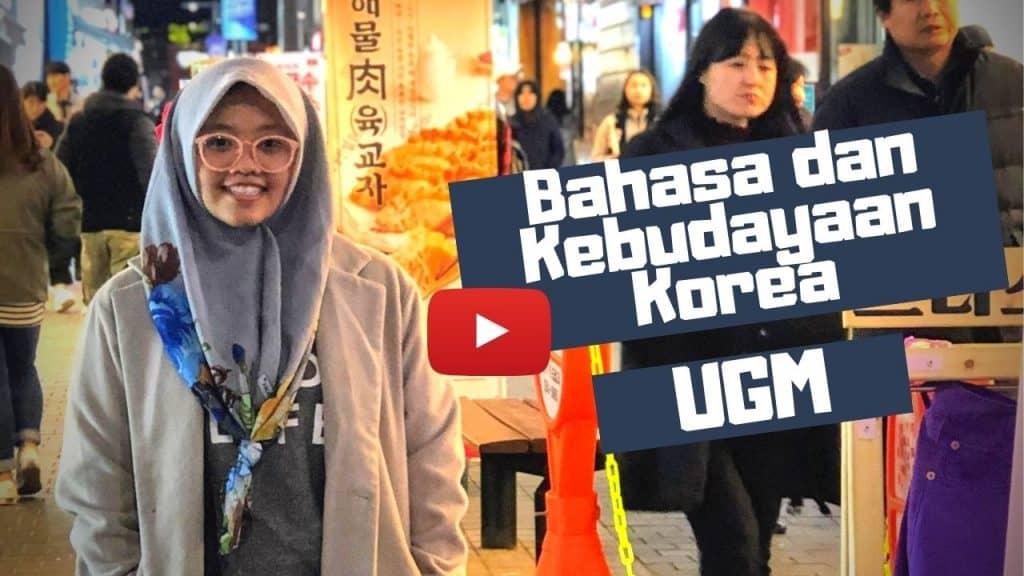 bahasa dan kebudayaan korea ugm