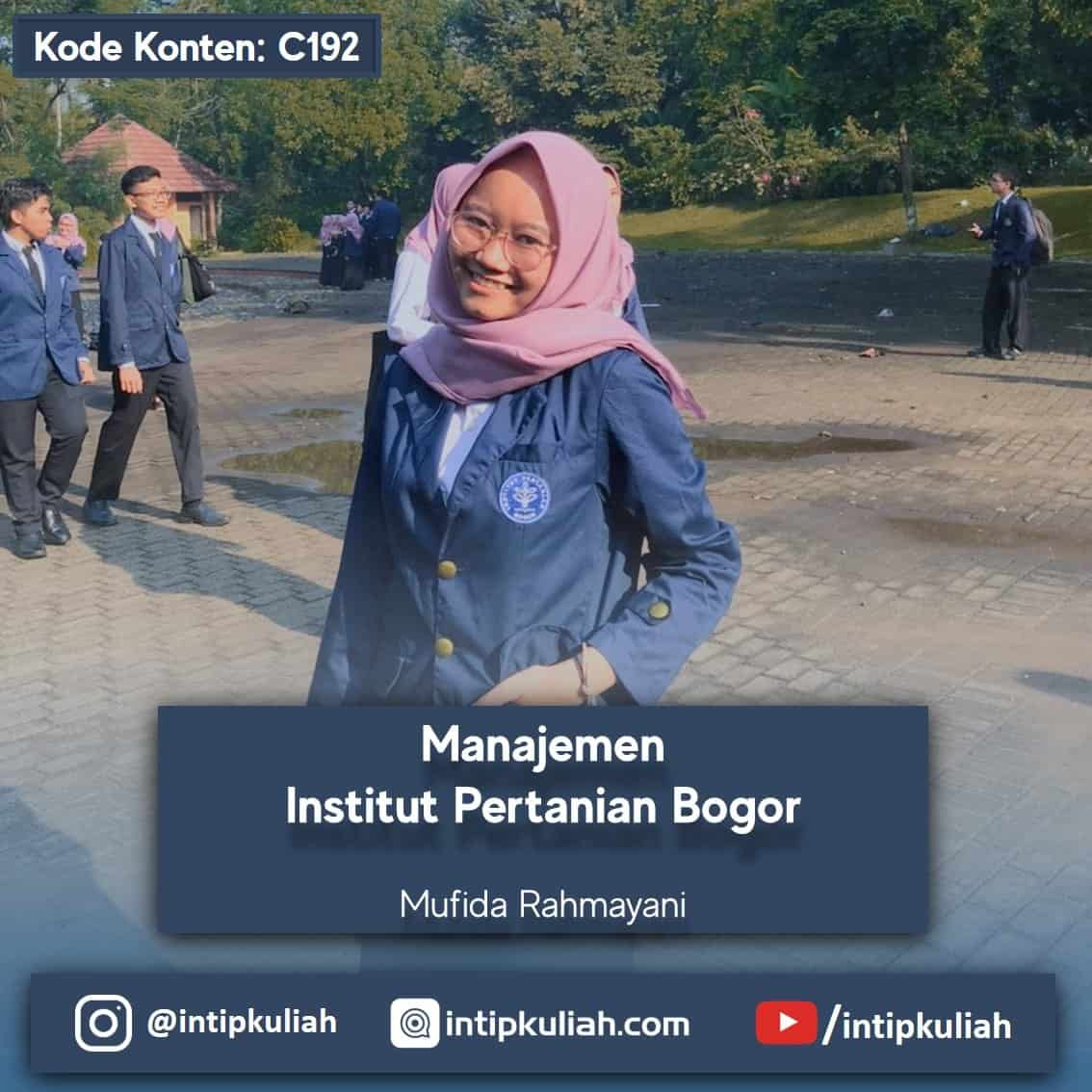 Manajemen IPB University (Mufida)