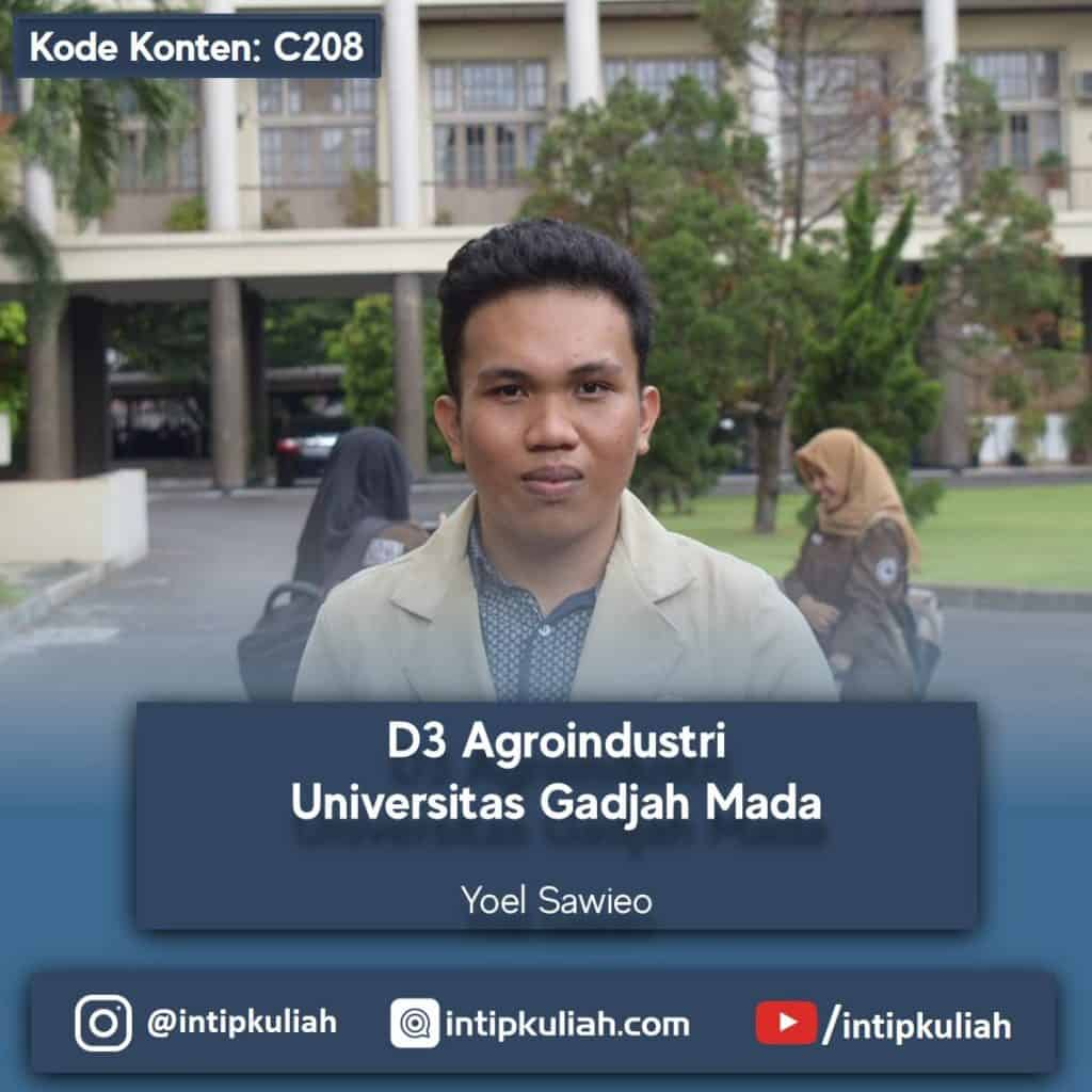 D3 Agroindustri UGM (Yoel)