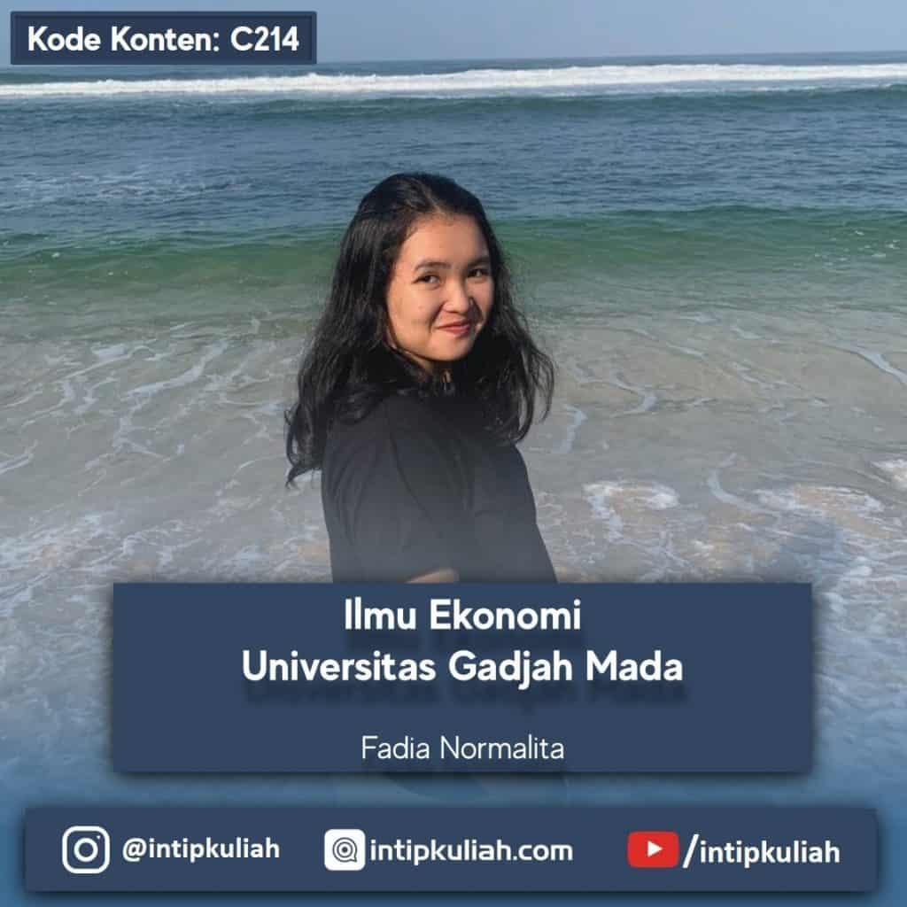 Ilmu Ekonomi UGM (Fadia)