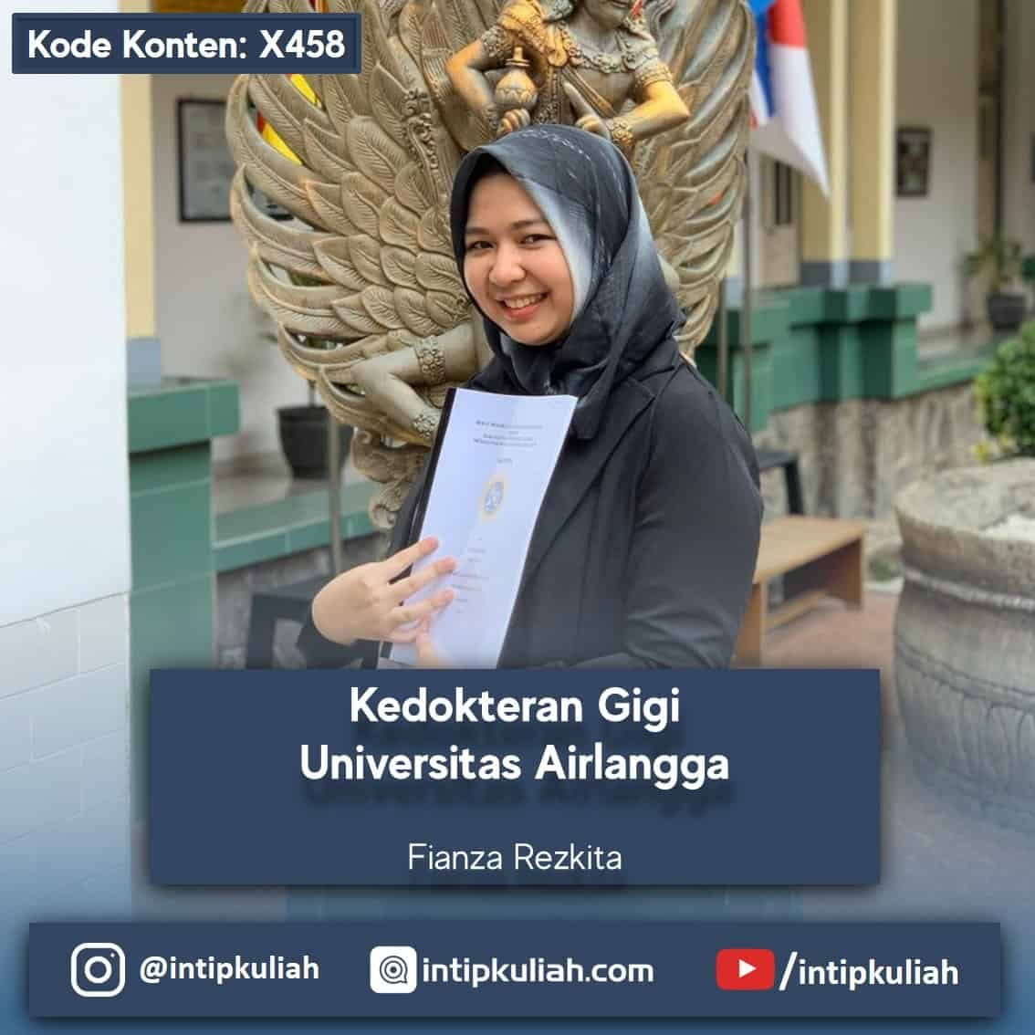 Kedokteran Gigi Universitas Airlangga (Fianza)