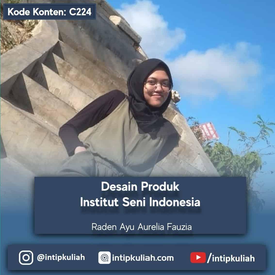 Desain Produk Institut Seni Indonesia (Aurel)