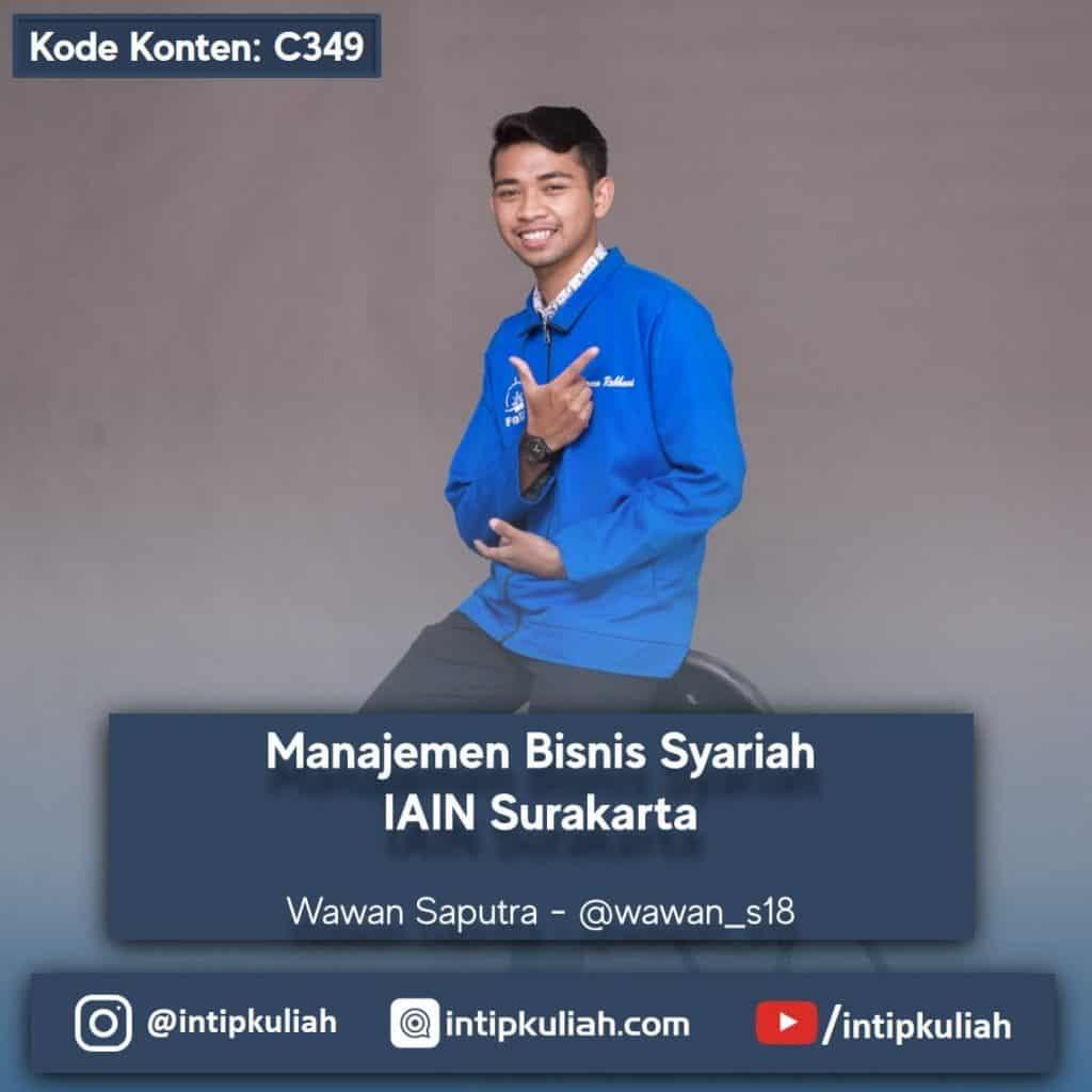 Manajemen Bisnis Syariah IAIN Surakarta (Wawan)