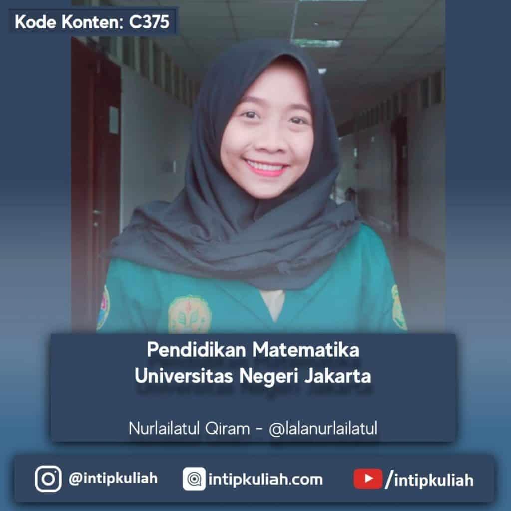 Pendidikan Matematika UNJ (Nurlailatul)