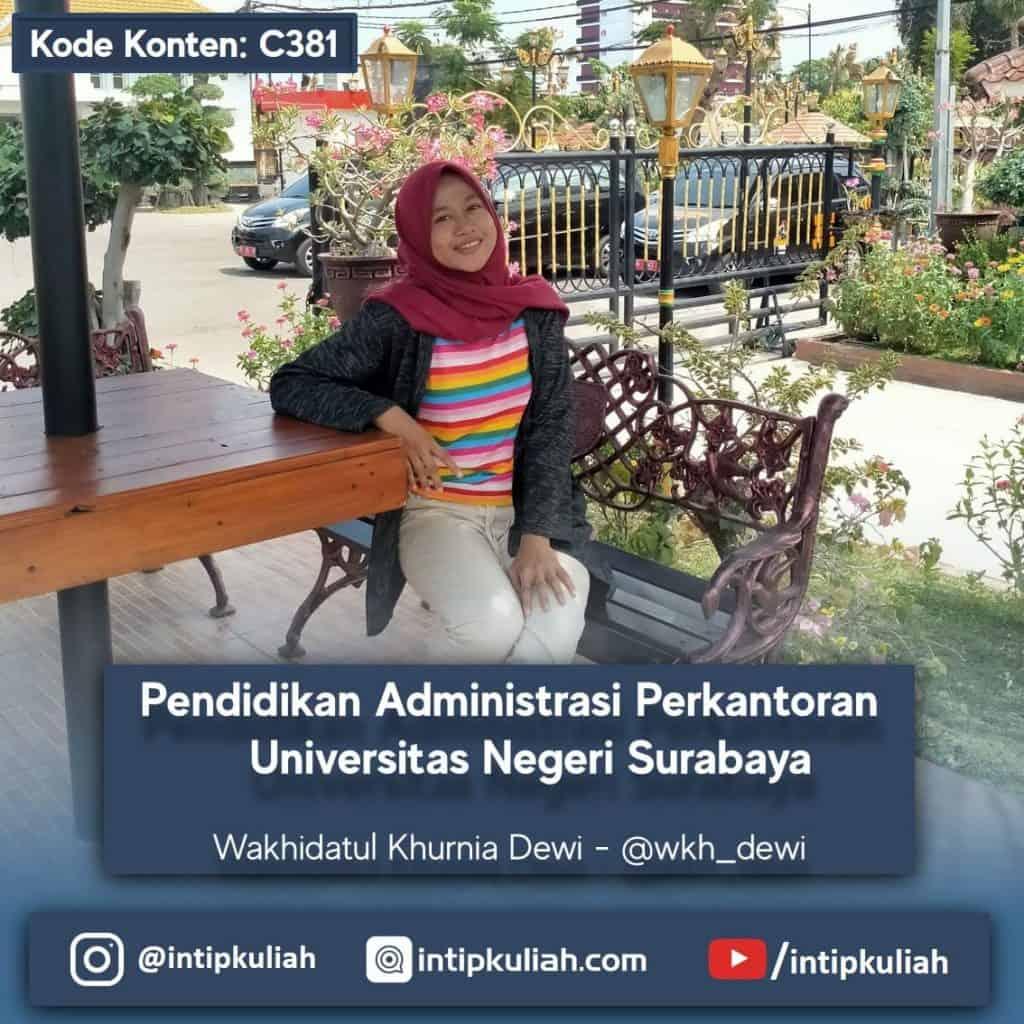 Pendidikan Administrasi Perkantoran UNESA (Dewi)