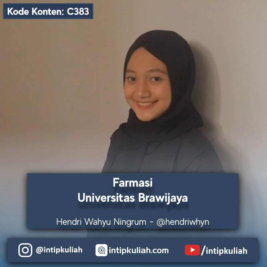 Farmasi Universitas Brawijaya (Hendri)