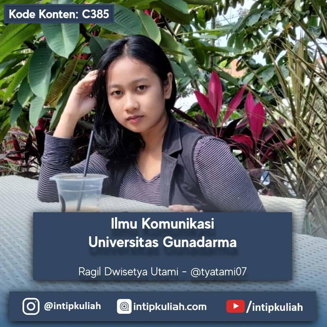 Ilmu Komunikasi Universitas Gunadarma (Ragil)